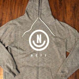 Neff Shirts - Neff Men's Grey Hoodie